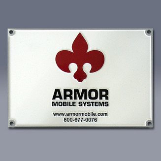 Armor Mobile Systems Nameplate