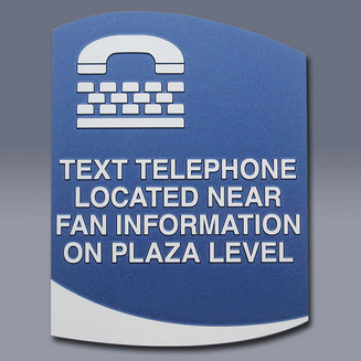 Text Telephone Sign
